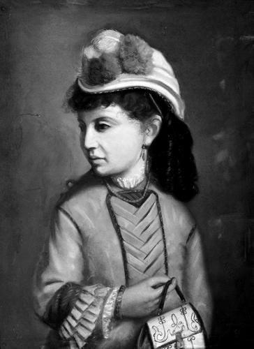 Portret Elisabeth Gotschalk