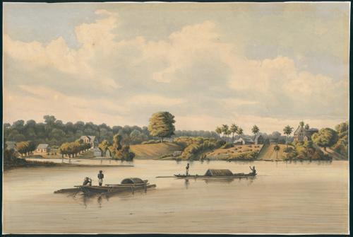 Post Gelderland en Joden Savannah te Suriname